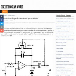 Low-cost-voltage-to-frequency-converter_Circuit Diagram World