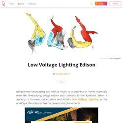 Low Voltage Lighting Edison