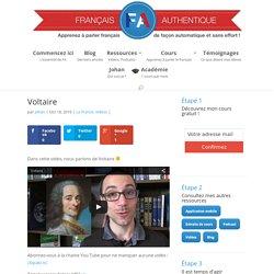 Voltaire - Français Authentique