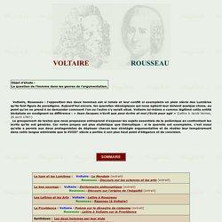 VOLTAIRE/ROUSSEAU