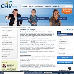 Voltijd - Journalistiek - Studeren - CHE