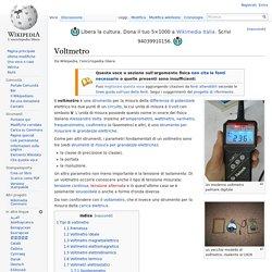 Voltmetro - Wikipedia