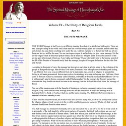 The Sufi Message: VOLUME IX - 30