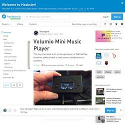 Volumio Mini Music Player