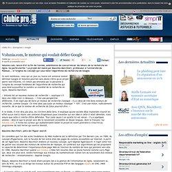 Volunia.com, le moteur qui voulait défier Google