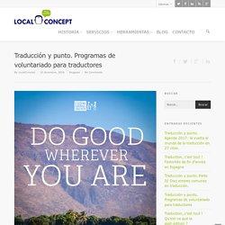 Programas de voluntariado para traductores