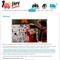 Volunteer Children Literacy - 100 Story Building, Melbourne