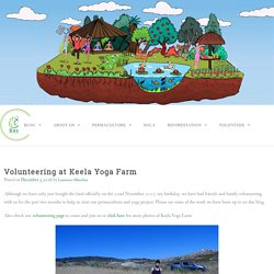 Volunteering at Keela Yoga Farm in Portugal