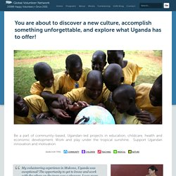 Volunteering Projects in Uganda