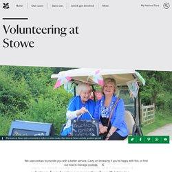 Volunteering at Stowe