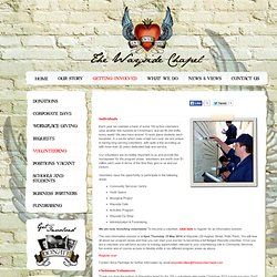 The Wayside Chapel, volunteering for Wayside - thewaysidechapel.com.au