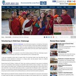 Volunteering in Child Care: Orphanage - Volunteers Initiative Nepal