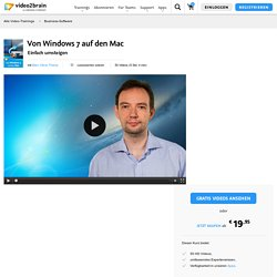 Von Windows 7 auf den Mac-Business-Software