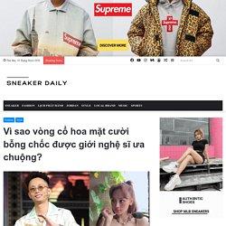 Giải mã vòng cổ hoa mặt cười Salute 2020 - Sneaker Daily