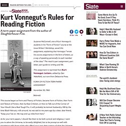 vonnegut essay Biography of kurt vonnegut kurt vonnegut was an extremely popular american writer of humor and science-fiction novels and short stories essays wikipedia.