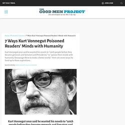 7 Ways Kurt Vonnegut Poisoned Readers' Minds with Humanity