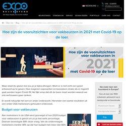 Hoe zijn de vooruitzichten voor vakbeurzen in 2021 met Covid-19 op de loer