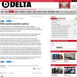 VSSD-voorzitter spreekt u-raad toe - TU Delta - Universiteitsblad TU Delft