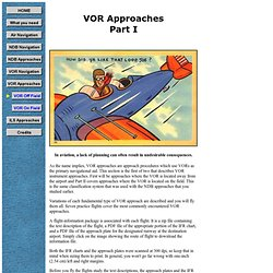 VOR Approach - Part 1