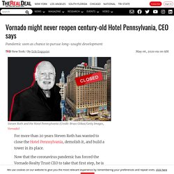 Century old hotel Pennsylvania may never open again