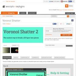 Voronoi Shatter
