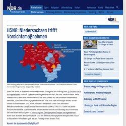 NDR 18/11/16 H5N8: Fast ganz Niedersachsen mit Stallpflicht