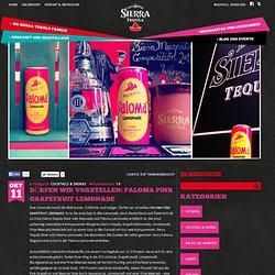 Sierra Tequila » Blog Archiv » Dürfen wir vorstellen: Paloma Pink Grapefruit Lemonade