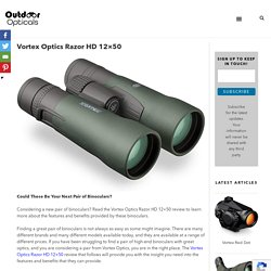 Vortex Optics Razor HD 12x50 - Outdoor Opticals