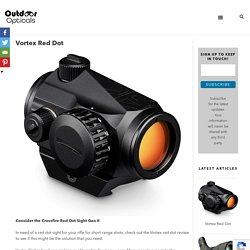 Vortex Red Dot - Outdoor Opticals