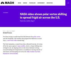 2/1: NASA video shows polar vortex shifting to spread frigid air across the U.S.