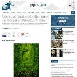 Vórtice al paraíso: el idílico túnel de árboles en Klevan, Ucrania