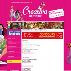 Vos contacts au Salon Creativa