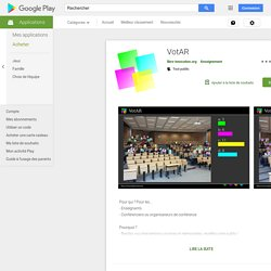 VotAR – Applications Android sur GooglePlay