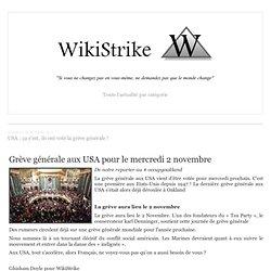 USA : ça y'est, ils ont voté la grève générale !