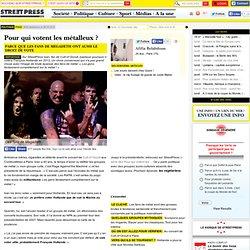 Lundi 26 Mars 2012 sur StreetPress