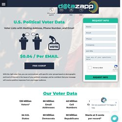 Voter List With Email