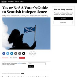 Yes or No? A Voter's Guide to Scottish Independence