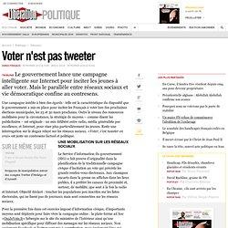 Voter n'est pas tweeter