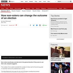VIDEO- How non-voters can change the outcome of an election