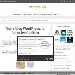 Votre blog WordPress, la Loi et les Cookies