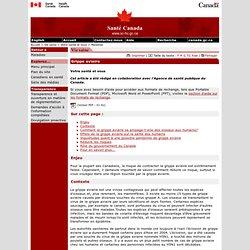 SANTE CANADA 06/09/05 Grippe aviaire