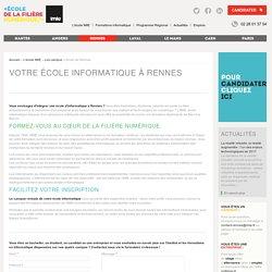 Votre école informatique à Rennes