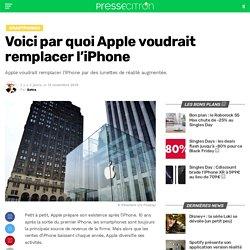 Voici par quoi Apple voudrait remplacer l'iPhone