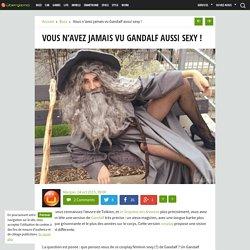 Vous n'avez jamais vu Gandalf aussi sexy !