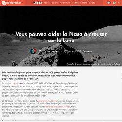 Vous pouvez aider la Nasa à creuser sur la Lune
