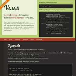 Vows « Asynchronous BDD for Node