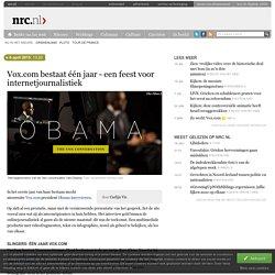 Vox.com bestaat één jaar - een feest voor internetjournalistiek