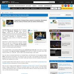 Voxalead News : chercher l'info dans la vidéo