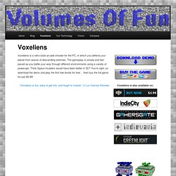 Voxeliens - Volumes Of Fun