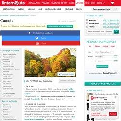 Voyage au Canada - Le Guide de voyage complet - Tourisme